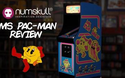 NUMSKULL's Ms Pac-Man QUARTER ARCADE Review
