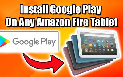 Install Google Play On Any Amazon Fire Tablet Using Fire Toolbox Works With 2020 Fire 8 HD Plus!