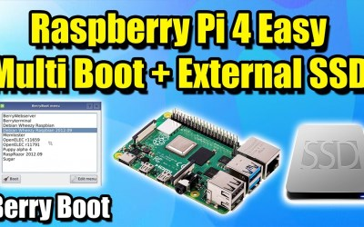 Raspberry Pi 4 Easy Multi Boot + External SSD – Berry Boot Tutorial
