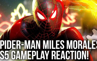 DF Direct – Spider-Man: Miles Morales PS5 Gameplay Reaction – Ray Tracing, Image Quality + More!