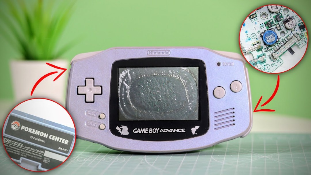 RARE Japanese Pokemon GameBoy Advance FULL Restoration