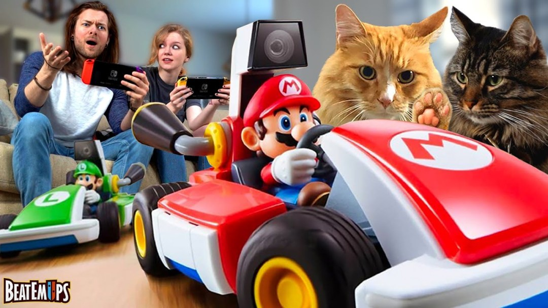 What it's ACTUALLY like to play Mario Kart Live: Home Circuit
