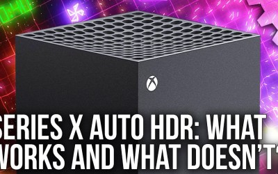 Xbox Series X: Auto HDR Mode Tested – What Works and What Doesn't
