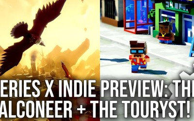 Xbox Series X Indie Showcase: The Falconeer + The Touryst Push High-End Display Features