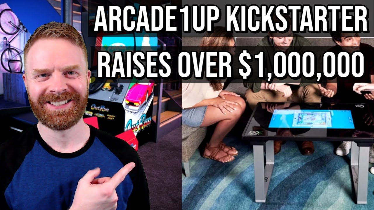Arcade1Up Kickstarter raises over One Million dollars! The Sega OutRun cabinet reviews are in