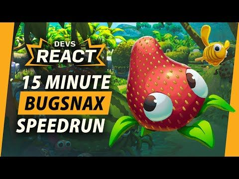 Bugsnax Developers React to 15 Minute Speedrun