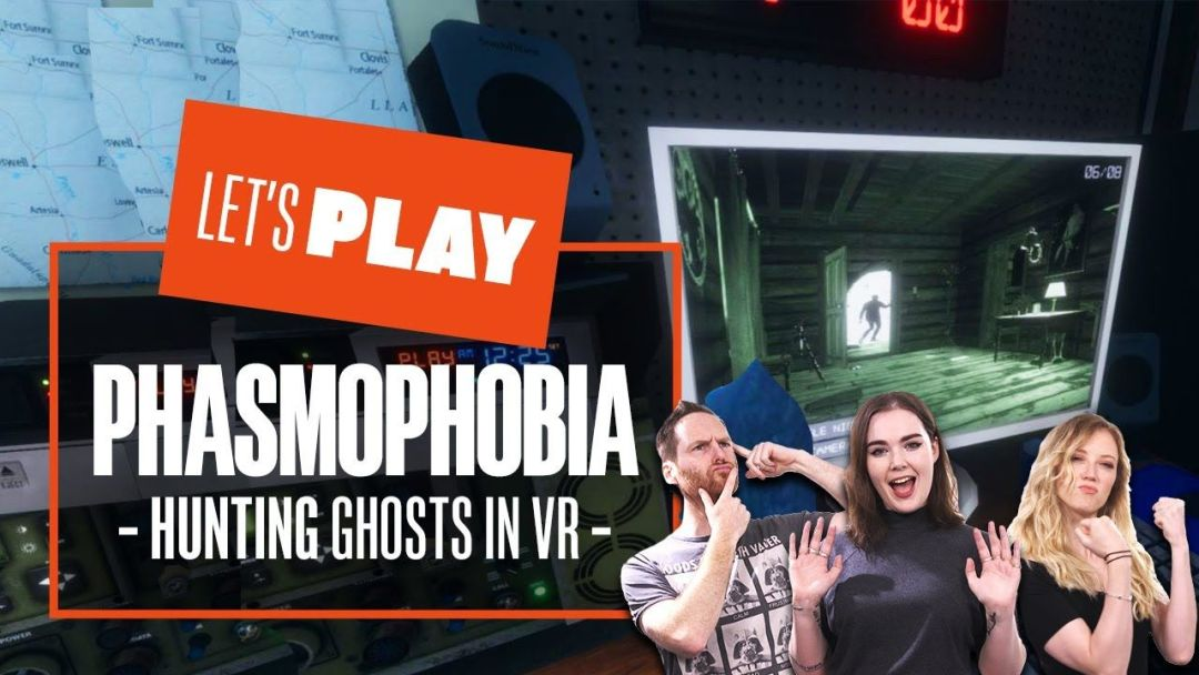Let's Play Phasmophobia – HUNTING GHOSTS IN VR MODE