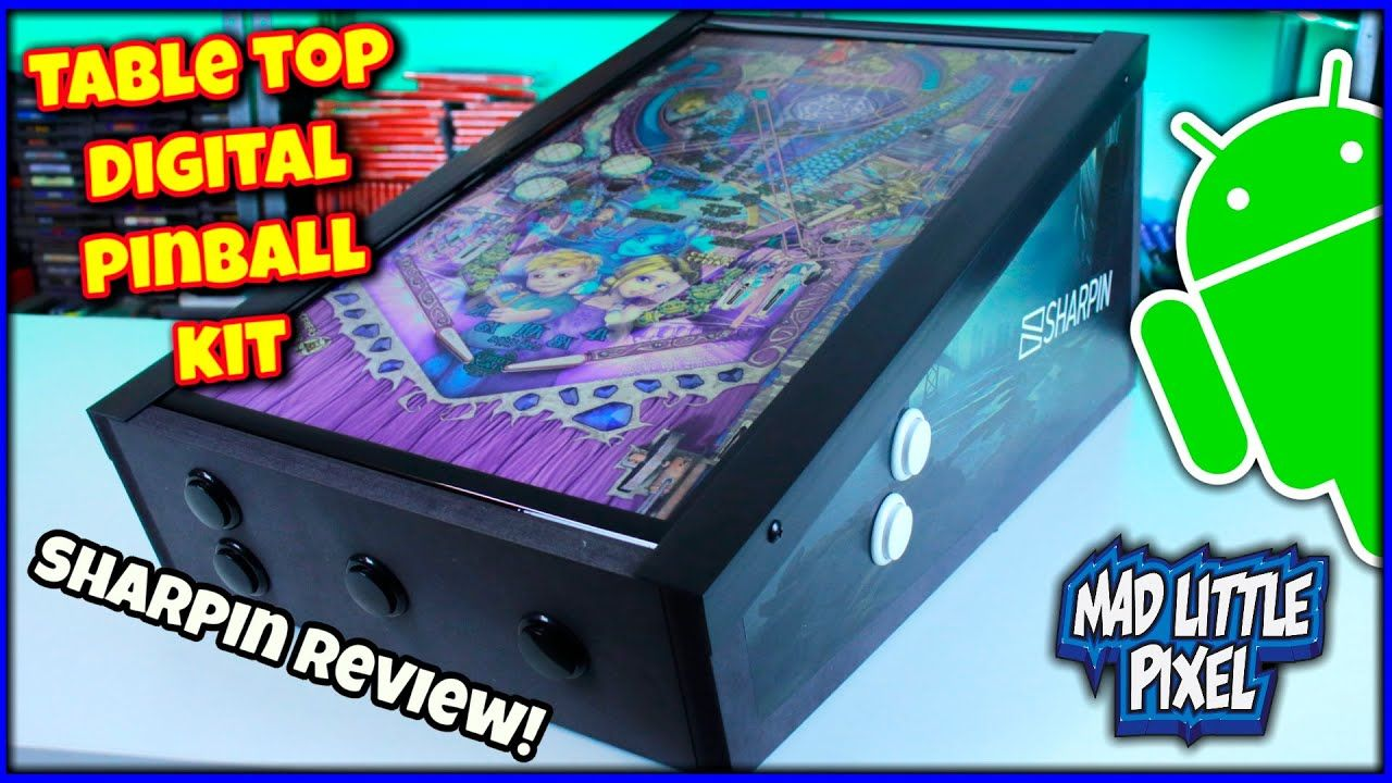 Table Top Digital Pinball Powered By A Beelink Android Box! Sharpin Ultra BRUTALLY Honest REVIEW!