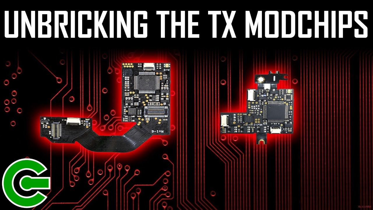 UNBRICKING THE TX LITE AND TX CORE MODCHIPS : MUST WATCH!!