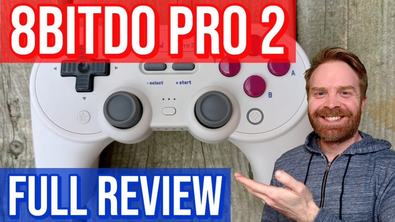 8bitdo Pro 2 Controller Review: The best bluetooth gamepad for Android / Raspberry Pi / Switch