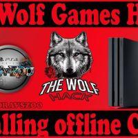 PS4 7.55 Jailbreak The Wolf Games HOST | Installing offline Cache | soport PS4 7.50/7.51