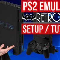 PlayStation 2 (PS2) Emulator on RetroArch: PCSX2 Core (Install guide: setup / config / tutorial)