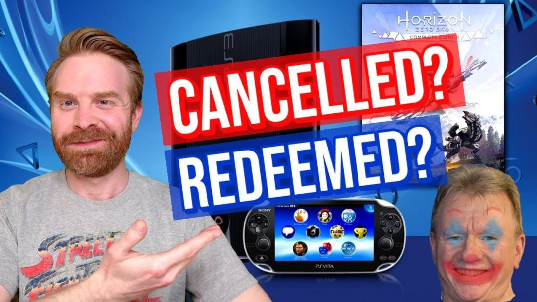 PlayStation Cancelled or Redeemed? PS3 / VITA Stores open plus Horizon Zero Dawn is Free