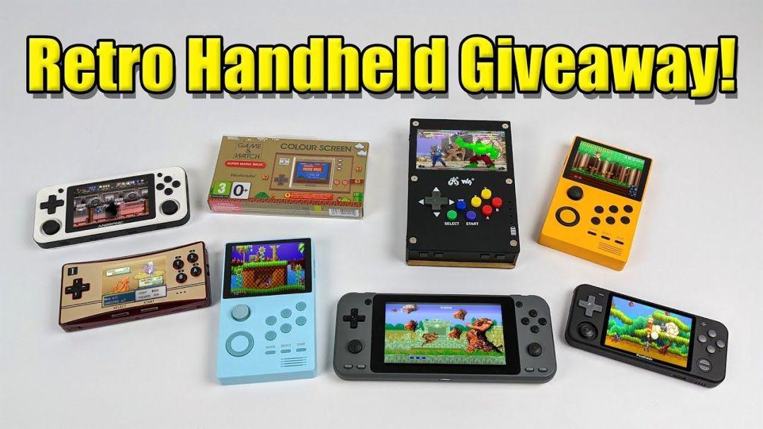Retro Handheld Giveaway!