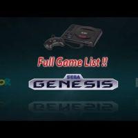 Super Console X Pro - Sega Genesis Game List (256gb Edition)