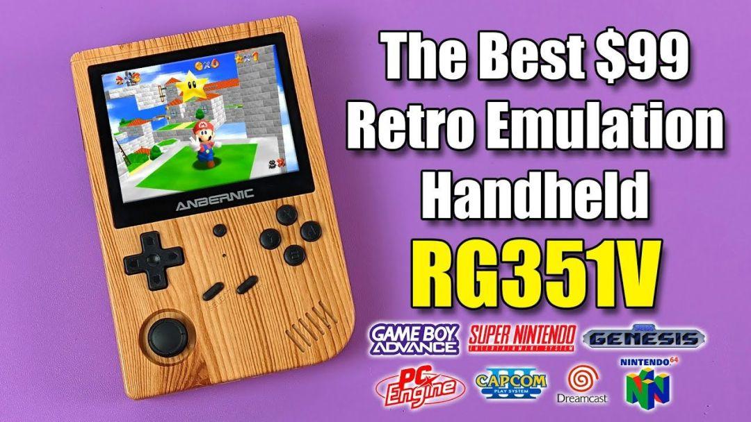 The Best $99 Retro Emulation Handheld – RG351V Review