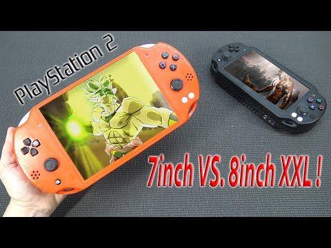 PS2 Portable 7inch vs. 8inch XXL Edition