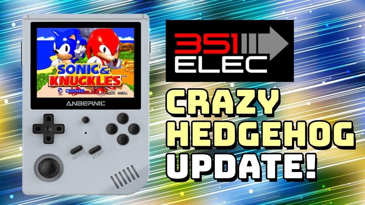 351ELEC Crazy Hedgehog Update: Improved N64 and Dreamcast + LZDoom!