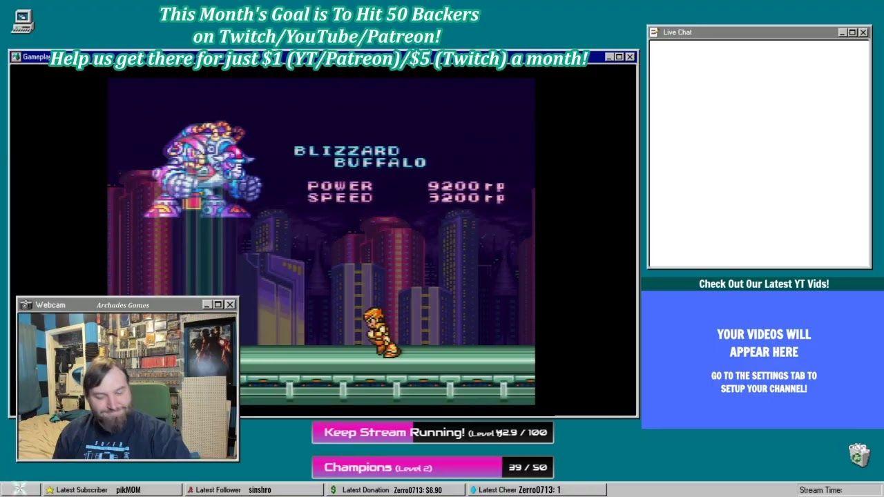 [38/50 Backers] Retro-Bit Wireless Legacy 16 Mega Man X Marathon!