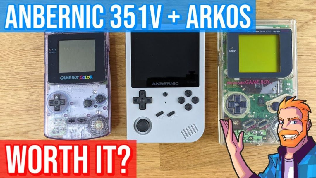 Should you buy the Anbernic RG351V?  Full Review / Tutorial (including ArkOS setup)