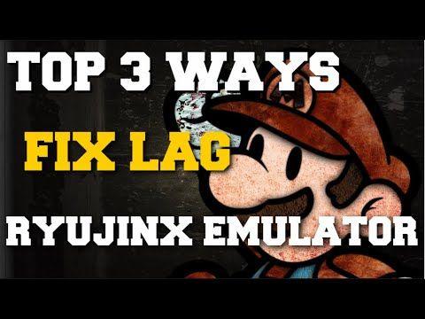TOP 3 WAYS TO FIX LAG ON RYUJINX EMULATOR GUIDE!