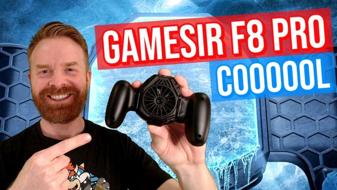 GameSir F8 Pro Snowgon Mobile Cooler Grip: Cold as Ice