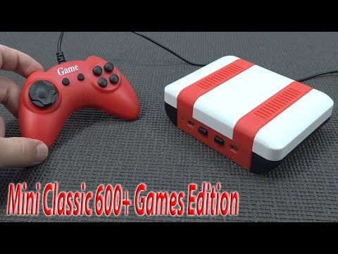 The First Unique Ali-Express – Mini Classic Console 😄