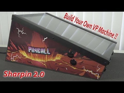 Build Your Own Virtual Pinball with Sharpin 2.0 !