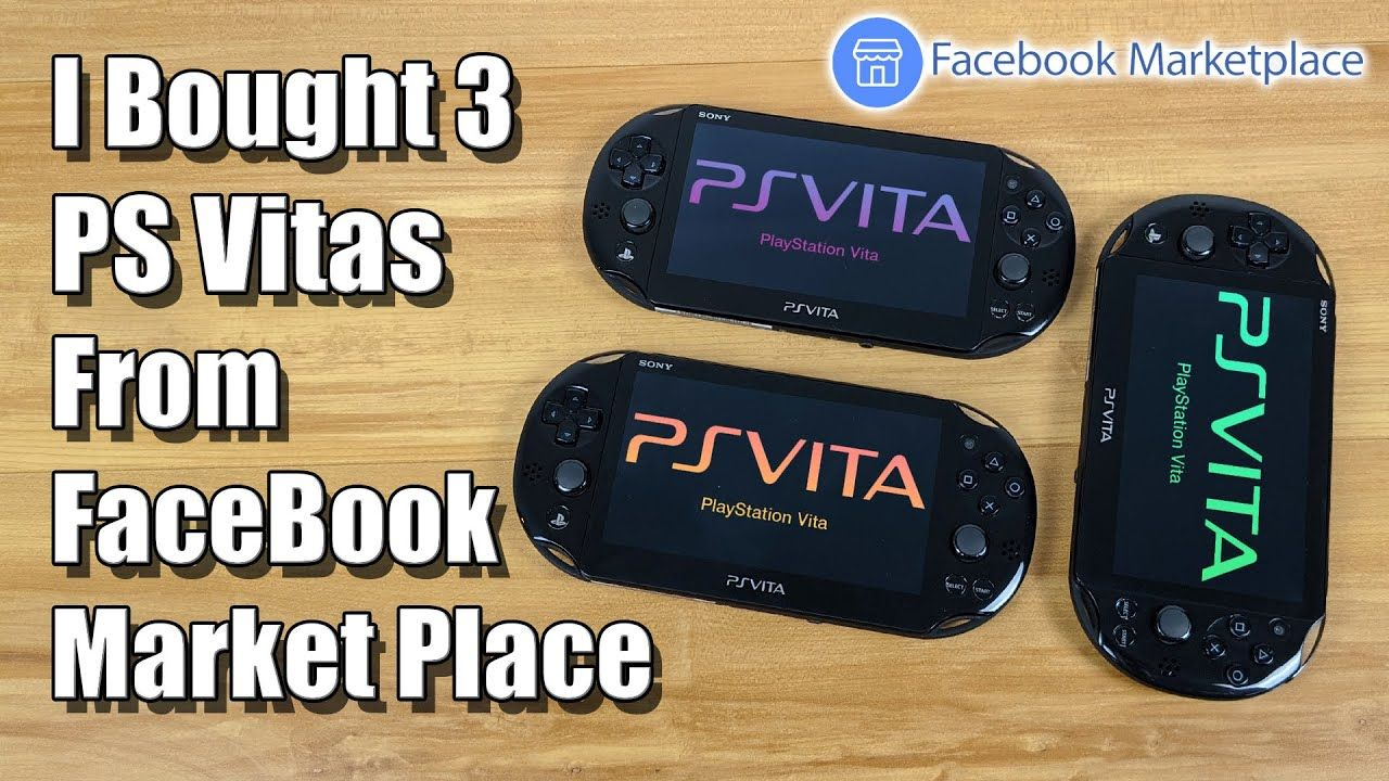 I Bought 3 PS Vita's On Facebook Market Place! Do They Work?