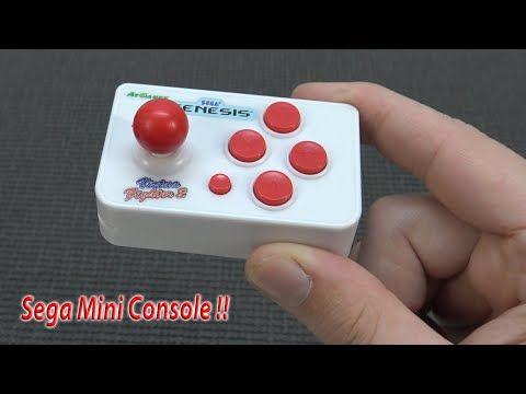 SEGA Nano Mini Plug 'n Play Arcade Console for on the Go !