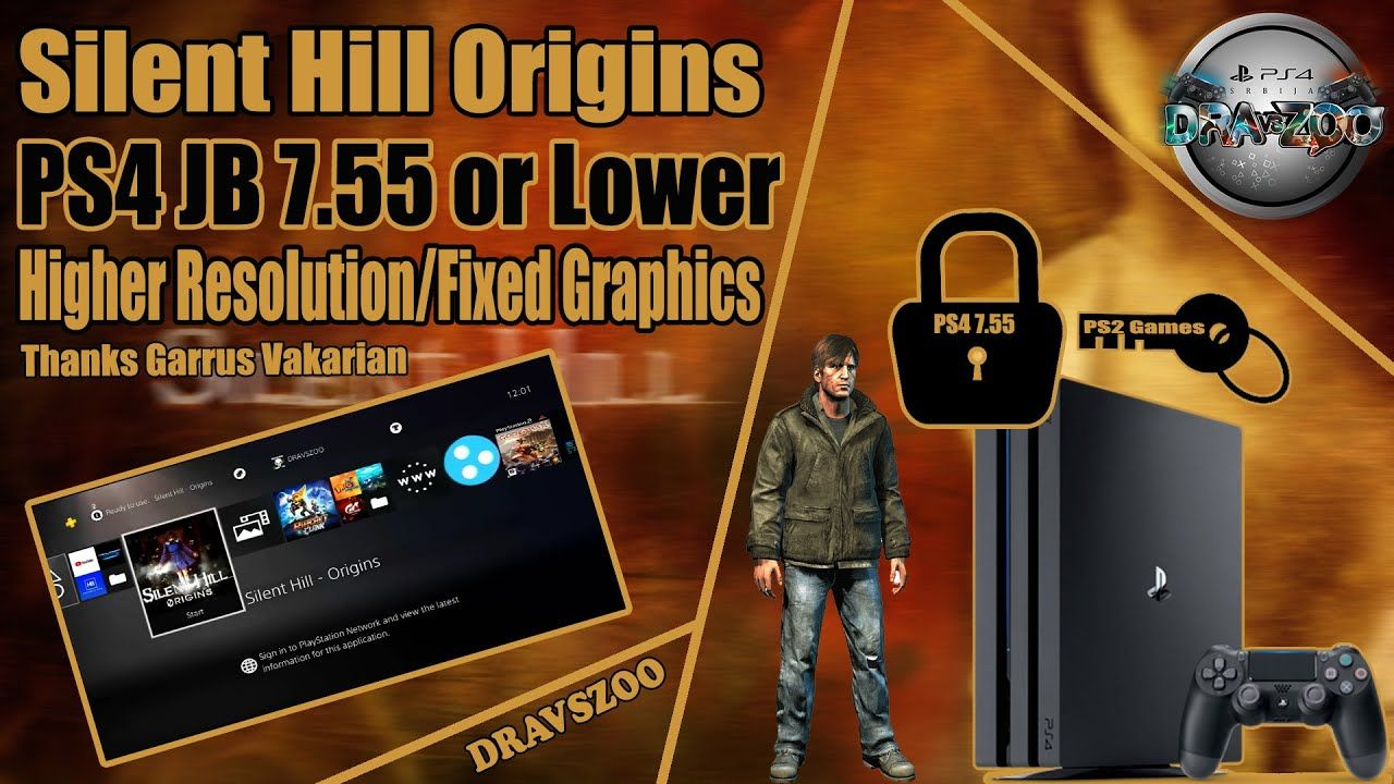Silent Hill Origins for PS4 Jailbreak   Higher Resolution   Fixed Graphics   Widescreen   Gameplay