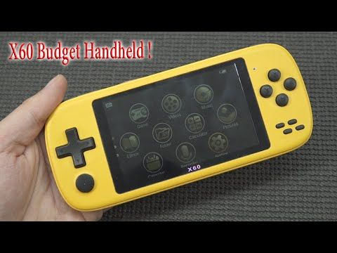 This Budget Game $26,- X60 Handheld .. Is it any good ?