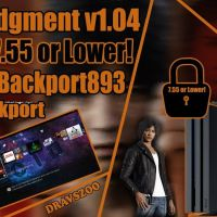 Lost Judgment BackPort to PS4 Jailbreak 5.05/6.72/7.02/7.55 Works Perfectly TEST| Thanks Backport893