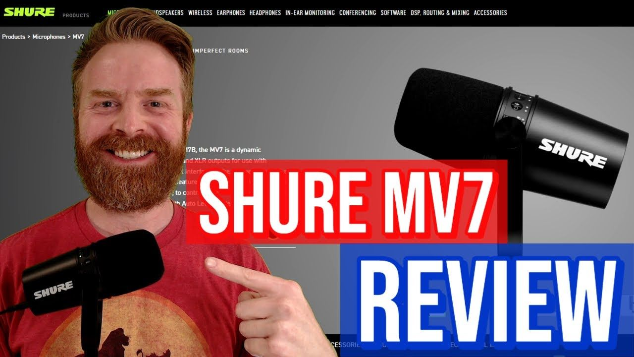 Shure MV7 USB Mic Review: The best USB Mic you can get?