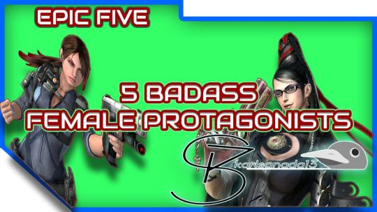 5 badass female protagonists in gaming feature image