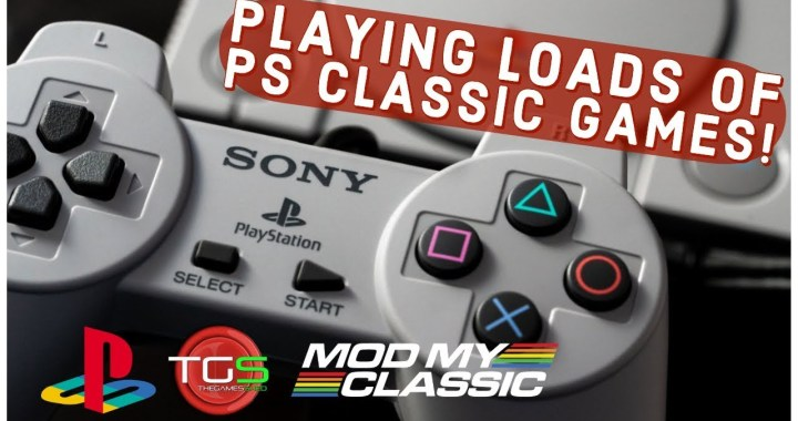 PS Classic + Bleemsync = Gameplay galore with Mark! (Livestream Archive)