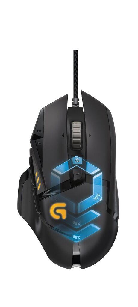 Logitech G502 Proteus Spectrum Gaming Mouse 3
