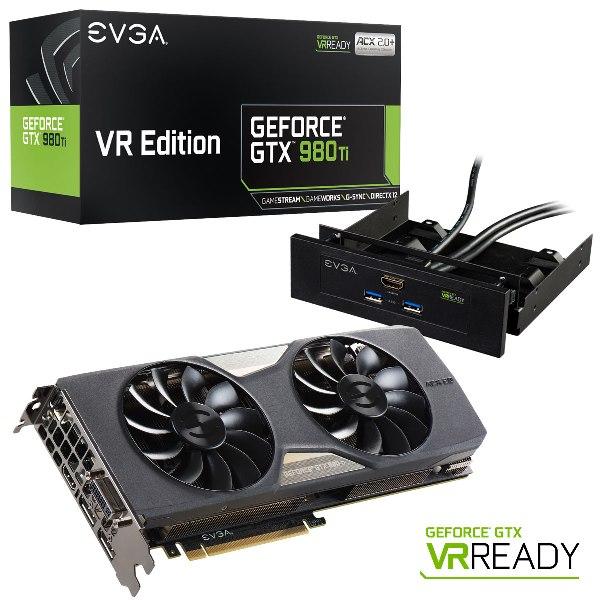 EVGA GeForce GTX 980 Ti VR EDITION GAMING ACX 2.0+