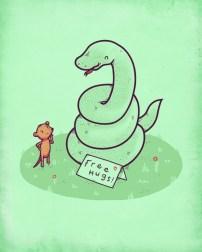 cool-funny-graphic-design-chicquero-snake-free-hugs