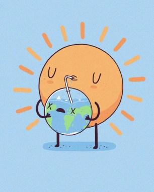 cool-funny-graphic-design-chicquero-sun-drinking-earth