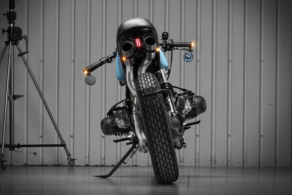 BMW Custom by motorcycle