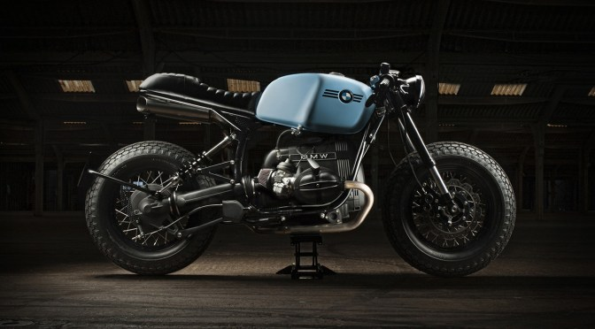 BMW Custom by motorcycle photographer