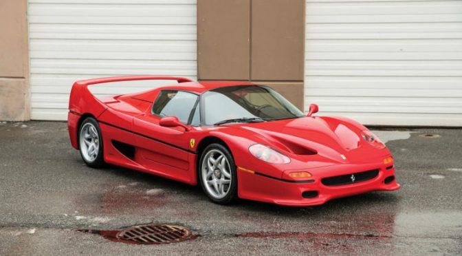 Ferrari F50 que Foi de Mike Tyson Vai a Leilão