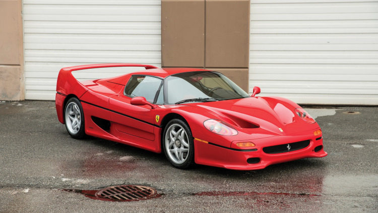 Ferrari Mike Tyson