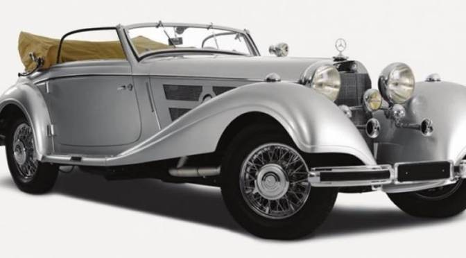 Mercedes-Benz clássicos do caso BPN à venda por 8 milhões de euros