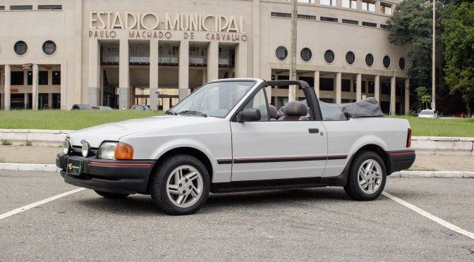 1988 Ford Escort XR3 Conversivel
