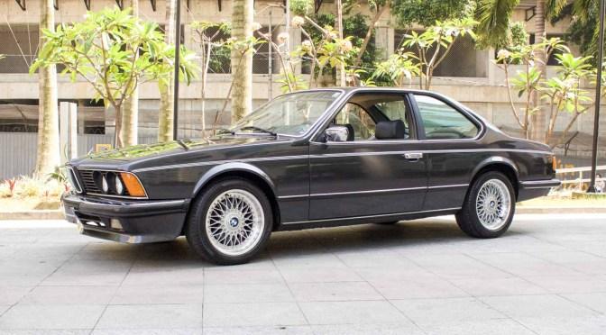 1985 BMW 635CSI E24