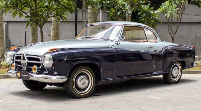 1958 Borgward Isabella Coupé a venda