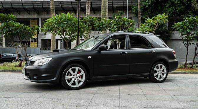 2007 Subaru WRX imprenza SW