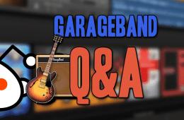 GarageBand Q&A